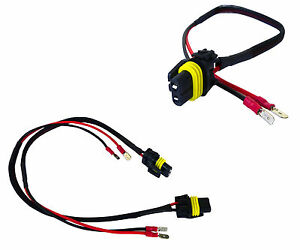 h1 bulb wiring h1/h3 male connectors plugs pigtail bulb wires harness hid ... 9003 h4 bulb wiring #10