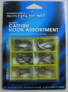 SOUTH-BEND-CHA-1-Catfish-Hook-Assortment-36-Piece