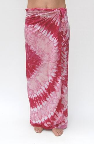12 verschiedene Sarongs in PINK Farbkombinationen Wickeltuch Sarong Pareo Lungi