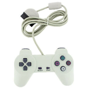 White-controller-game-pad-for-playstation-1-PS1-PSX-USA