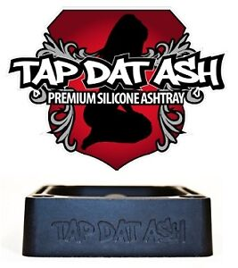 TAP-DAT-ASH-Silicone-Rubber-Ashtray-Will-not-Crack-or-Chip-Glass-Tobacco-Pipes