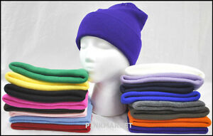 Men-Womens-Winter-Long-Short-Skull-Knit-Beanie-Ski-Hat-NWT-CHOOSE-UR-COLOR