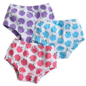 NEW-Vaenait-Baby-Girl-3-pack-of-Underwear-Briefs-Pantie-Set-034-Apple-Tree-Set-034