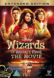 WALT DISNEY - WIZARD OF WAVERLY PLACE - THE MOVIE - EXTENDED EDITION DVD