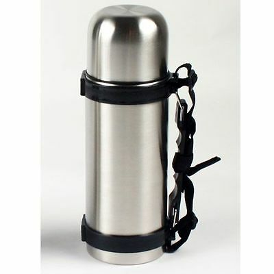 NEW Stainless Steel Vacuum Thermos Bullet Flask Handle Drinks Water Travel Mug