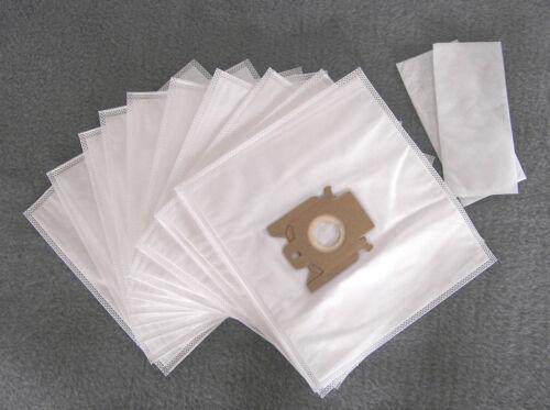 2 Filter Staubbeutel Filtertüten 10 Staubsaugerbeutel für Miele S 328i