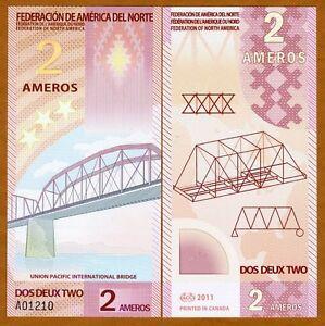 Federation-of-North-America-2-Ameros-2011-Polymer-New-UNC