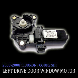 Left-Side-Door-Window-Motor-For-03-04-05-06-07-08-Hyundai-Tiburon-Coupe-SIII