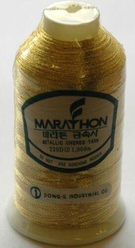 Marathon Rayón Máquina Bordadora hilo metálico 1000m elección de colores