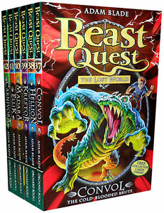 Beast-Quest-Series-7-Collection-6-Books-Pack-Set-37-to-42-Adam-Blade-Convol-H