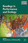 Readings in Performance and Ecology by Palgrave Macmillan (Hardback, 2012)