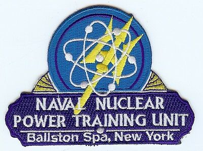 Naval Nuclear Power Training Unit Ballston Spa, NY BC Patch Cat No C6938