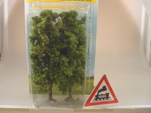 2 St. große Kastanien Bäume    - Heki Artline HO  1980   #E