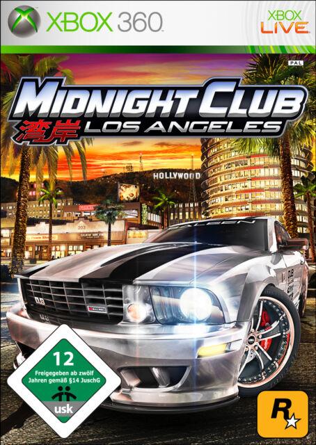 Midnight Club: Los Angeles (Microsoft Xbox 360, 2008, DVD-Box)