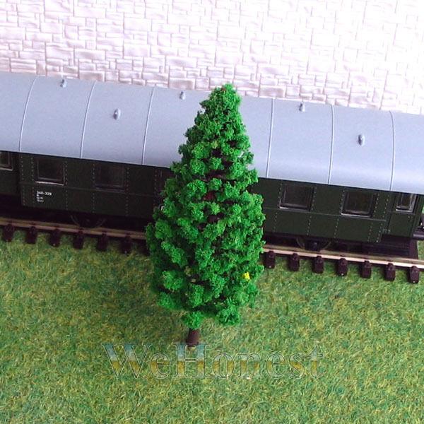 80 pcs Model Trees Pine Trees for OO gauge or HO gauge #9536
