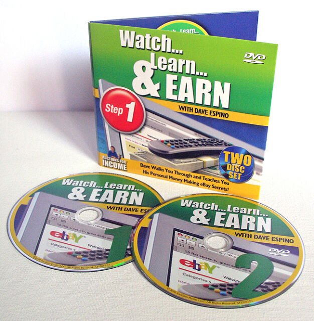 How To Sell On eBay 2 DVD Video Set Training Course Tutorials + FREE US Shipping