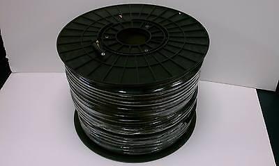 50 ohm RG8 Black Coaxial Cable (RG8/U OR RG8U) Spool / Reel USA FREE SHIPPING!