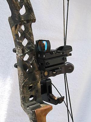 Scope Multi Reticle RedDot Sight Archery Bow w/Mount Automatic Light sensor