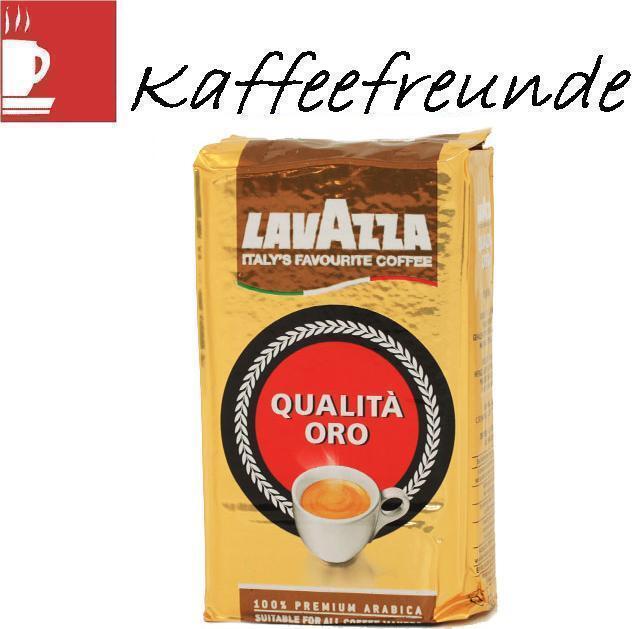 Lavazza Qualita Oro Gemahlen Kaffee 12 x 250 gr