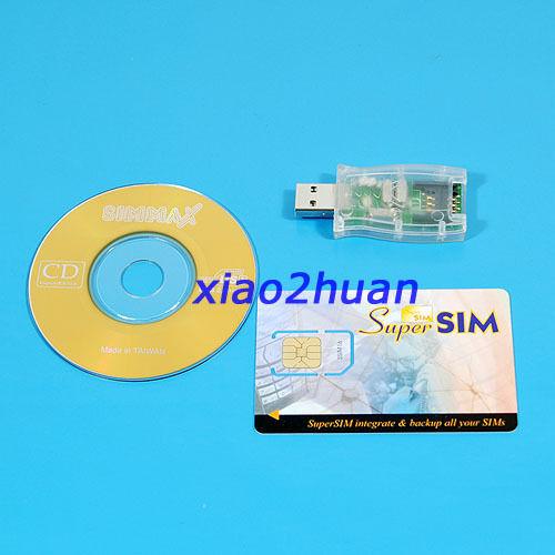 NEW HOT USB 16in1 Sim card Reader Writer Copy Cloner Backup CD