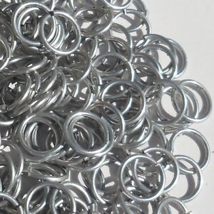 Bright Aluminum Jump Rings G