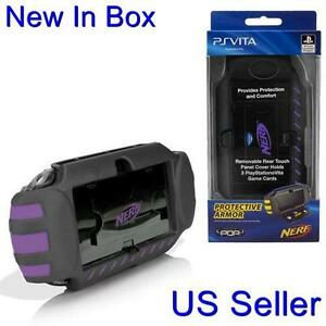 PDP-PlayStation-Vita-NERF-Armor-Protective-Case-PSVita-Purple-SO6266-034-NEW-034