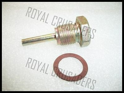 BRAND NEW ROYAL ENFIELD OIL FEED PLUG AND WASHER @justroyal