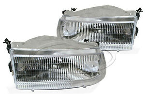 New replacement headlight assembly pair for 1995 01 ford for 1995 ford explorer window motor replacement