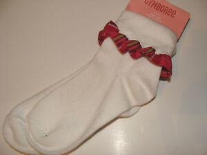 Gymboree-Fall-Homecoming-Girls-Size-3-4-Socks-NEW