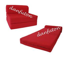 RED-TWIN-SIZE-SLEEPER-CHAIR-FOLDING-FOAM-BED-STUDIO-BED