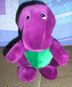 ULTRA-RARE-ORIGINAL-BARNEY-amp-THE-BACKYARD-GANG-DAKIN-LYONS-DINOSAUR-PLUSH-DOLL