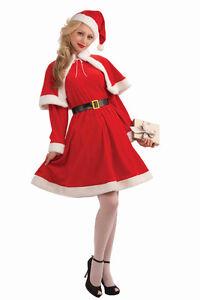 miss-santa-suit-christmas-costume-velvet-dress-capelet-adult-women-std-mrs-claus