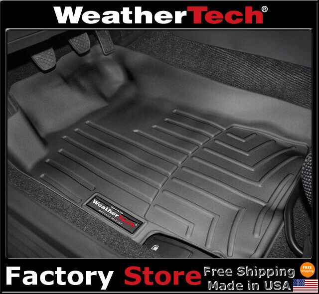 WeatherTech Floor Mats FloorLiner - Subaru Impreza - 2002-2007 - Black
