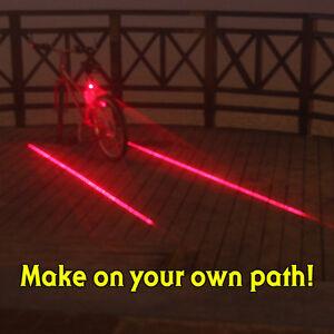 Bicycle-laser-lane-tail-light-bikelane-bike-safety-tail-light