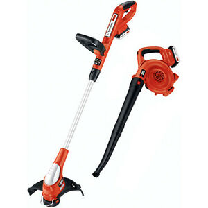 Black-amp-Decker-20V-MAX-Lithium-Ion-Combo-Kit-Trimmer-and-Sweeper-LCC220R