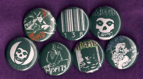 THE MISFITS horror punk Danzig Pins Buttons Badges NEW