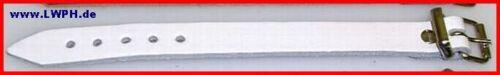 Cinghia in pelle in 6 colori 1,4 x 18 Nero Rosso Blu Bianco Natura Marrone Di Lwph