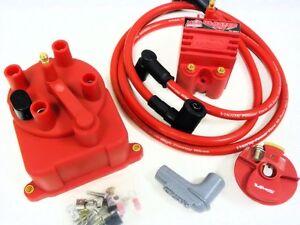 97-01 HONDA CRV B20 EXTERNAL COIL DISTRIBUTOR CAP CONVERSION KIT MSD BLASTER SS | eBay