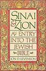 Sinai and Zion: An Entry into the Jewish Bible by Jon Douglas Levenson (Paperback, 1987)