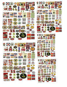 1-24-1-32-1-43-VINTAGE-GAS-STATION-DECALS-FOR-DIECAST-MODEL-CARS-DIORAMAS