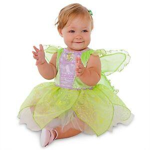 Disney-Store-Tinkerbell-Glow-In-The-Dark-Costume-Dress-Size-12-18M-2T-3T-NWT