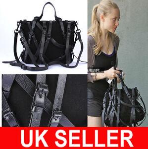 LATEST-Designer-Celebrity-Multi-Strap-Faux-Suede-X-body-Satchel-Messenger-Bag