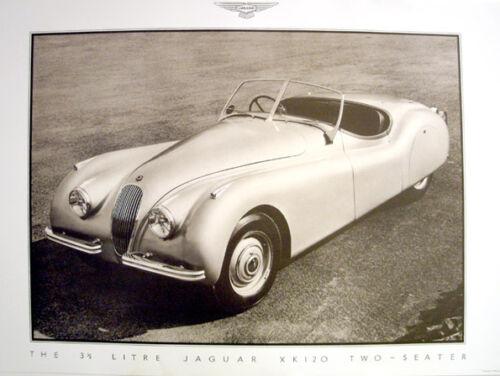 Jaguar Mark II Saloon Poster Picture Print A1