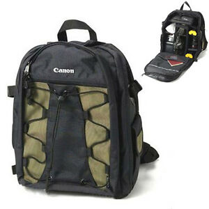 FREE-SHIPPING-Authentic-Canon-Backpack-200EG-9246-Camera-DSLR-Back-Pack-Bag
