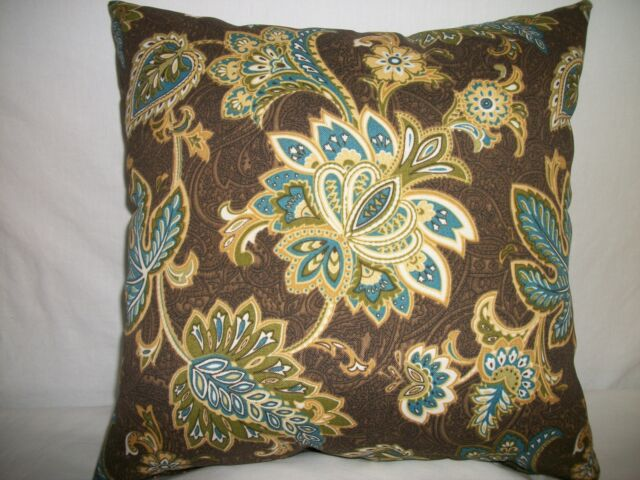 "1 DECORATIVE THROW PILLOW CUSHION COVER 17"" IN/OUTDOOR"
