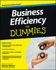 Business Efficiency For Dummies by Marina Martin (Paperback, 2013)