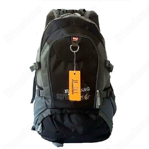 Waterproof Backpack Shoulders Hiking Travel Bag Mountaineering Rucksack