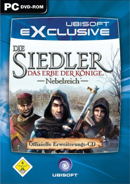 Die Siedler: Das Erbe der Könige - Nebelreich (PC, 2006, DVD-Box)