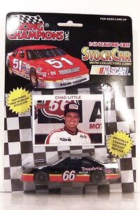 1991 Racing Champions 1:64 NASCAR Chad Little Phillips 66 Ford Thunderbird #66
