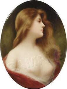 VICTORIAN LADY ANTIQUE ERA WOMAN ELAINE ANGELO ASTI GICLEE *CANVAS* ART PRINT